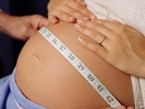 С какого месяца при беременности начинает расти живот?