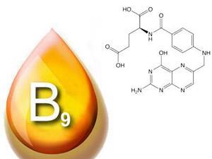 Формула фолиевой кислоты