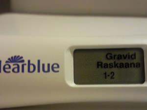 Определение срока беременности с помощью теста