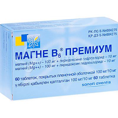 Магний и витамин B6