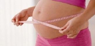 Измерения объема живота в период беременности