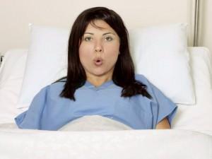 Правила дыхания во время родов