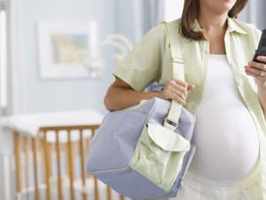 Поведение женщины в начале родов