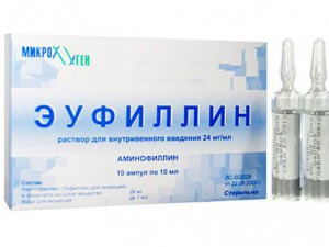 Применение Эуфиллина в период беременности