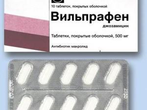 Применение Вильпрафена в период беременности