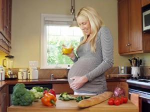 Рацион питание беременной женщины
