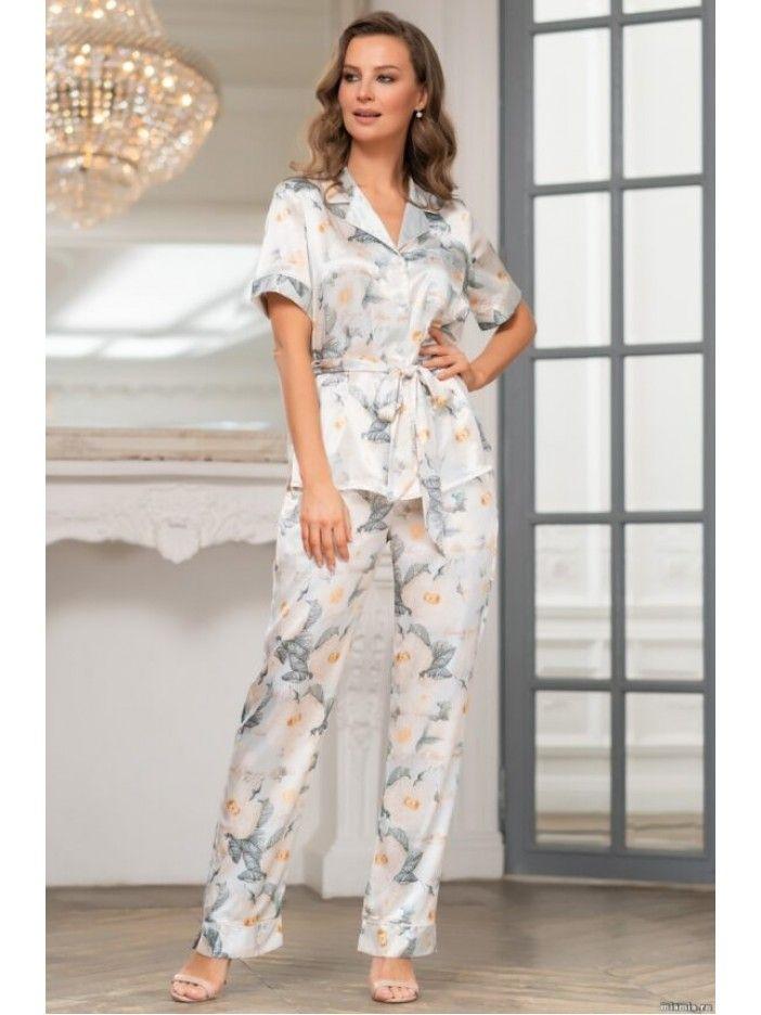 Пижама с короткими рукавами