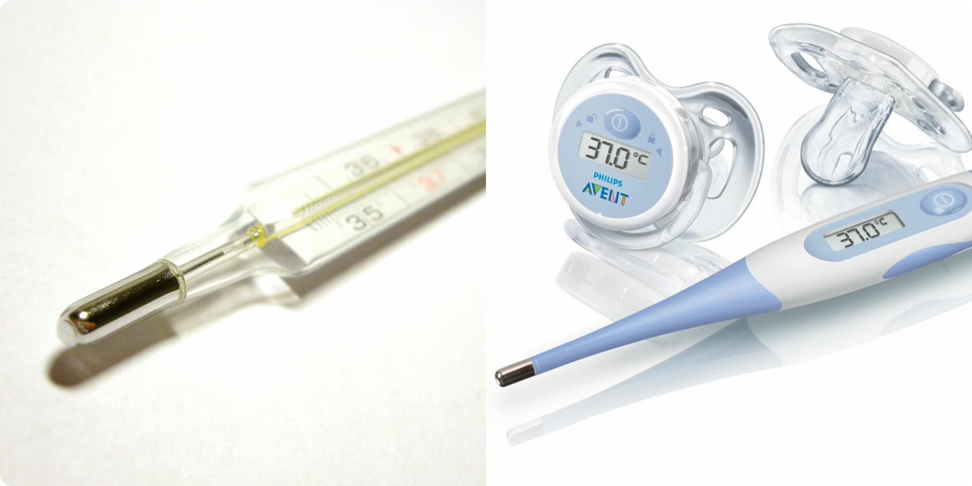 Правила измерения температуры грудничка